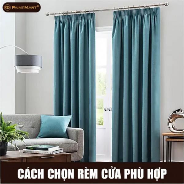 Cách chọn rèm cửa phù hợp với nhà bạn