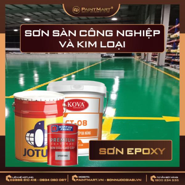 Hiểu rõ hơn về các loại sơn Epoxy
