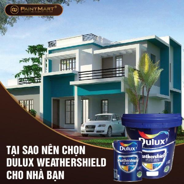 Tại sao nên chọn sơn Dulux Weathershield cho nhà bạn