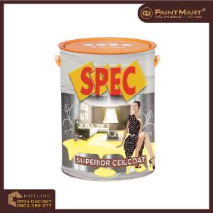 Sơn trần TRẮNG SÁNG CAO CẤP Spec Superior CeilCoat