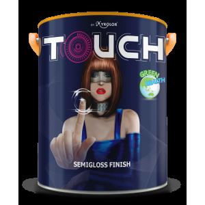 Sơn ngoại thất BÓNG MỊN Mykolor Touch Semigloss Finish 5L