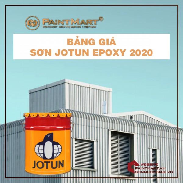 Báo giá sơn công nghiệp Jotun Epoxy năm 2020