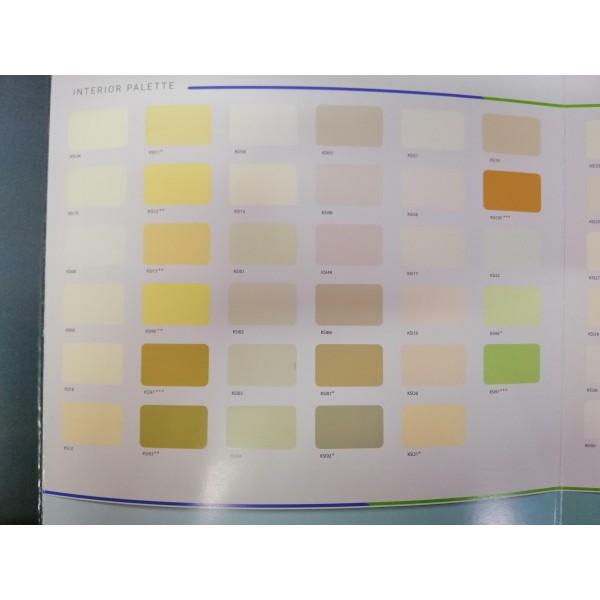 Bảng màu sơn nội thất Kansai