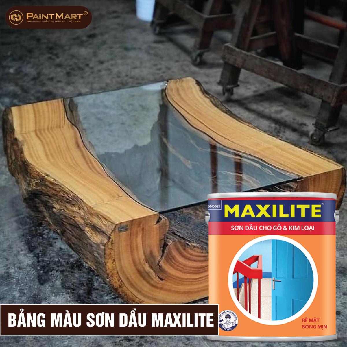 Bảng màu sơn dầu Maxilite