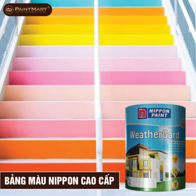 Bảng màu sơn cao cấp Nippon