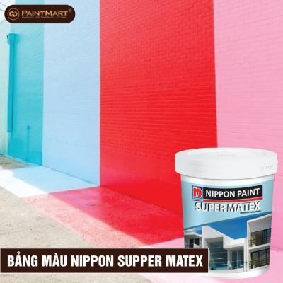 Bảng màu sơn Nippon Matex