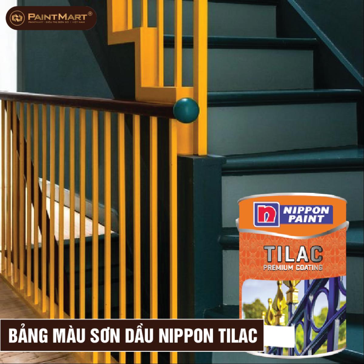 Bảng màu sơn dầu Nippon Tilac