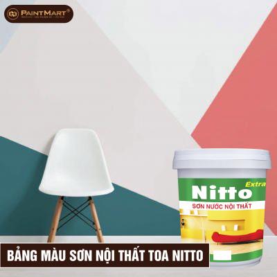 Bảng màu sơn nội thất Toa Nitto