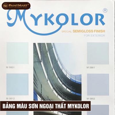 Bảng màu ngoại thất Mykolor