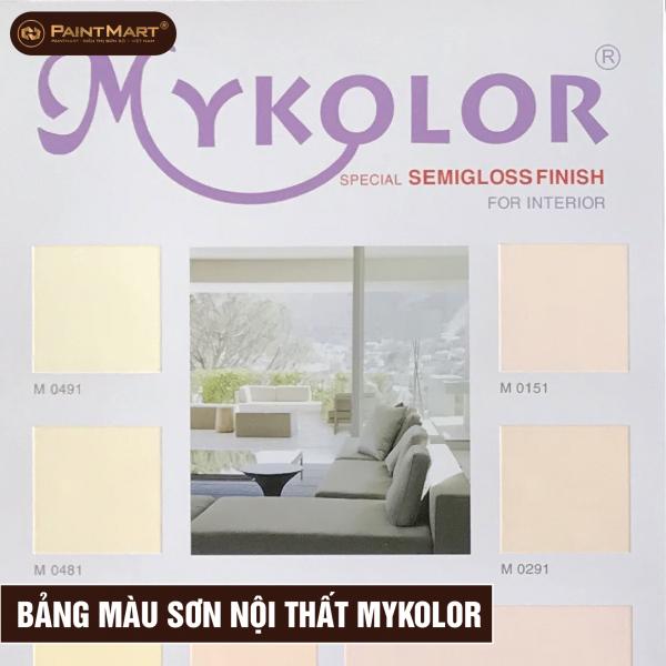 Bảng màu nội thất Mykolor