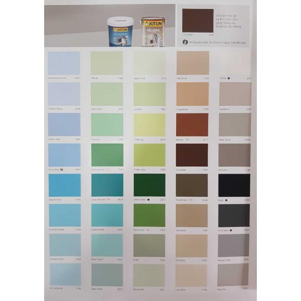 Bảng màu sơn nội ngoại thất Essence