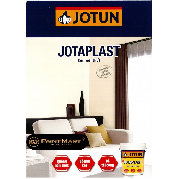 Bảng màu sơn nội thất Jotun Jotaplast