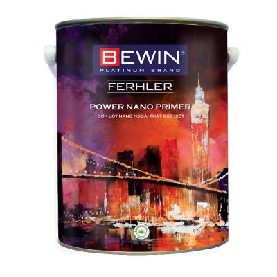 Sơn lót nano ngoại thất đặc biệt BEWIN- Ferhler POWER NANO PRIMER