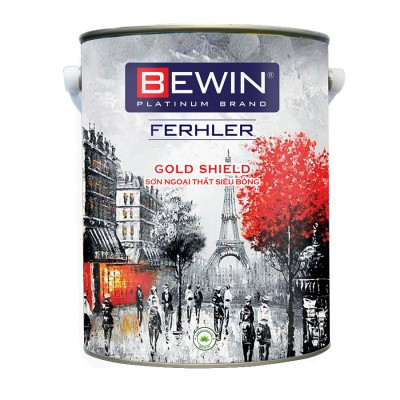 Sơn ngoại thất cao cấp đặc biệt BEWIN - Ferhler GOLD SHIELD