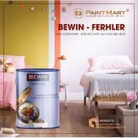Sơn nội thất cao cấp lau chùi hiệu quả BEWIN - Ferhler EASY CLEAN MAX