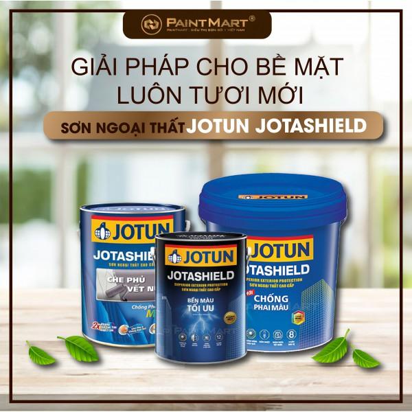 Giải pháp cho bề mặt tường luôn tươi mới từ sơn ngoại thất Jotun Jotashield