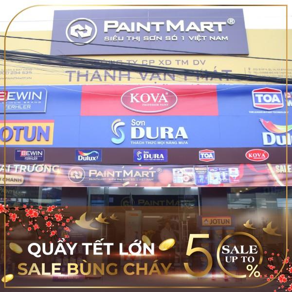 Quẩy tết lớn cùng Dulux, Sale up to 50% các sản phẩm sơn nội & ngoại thất