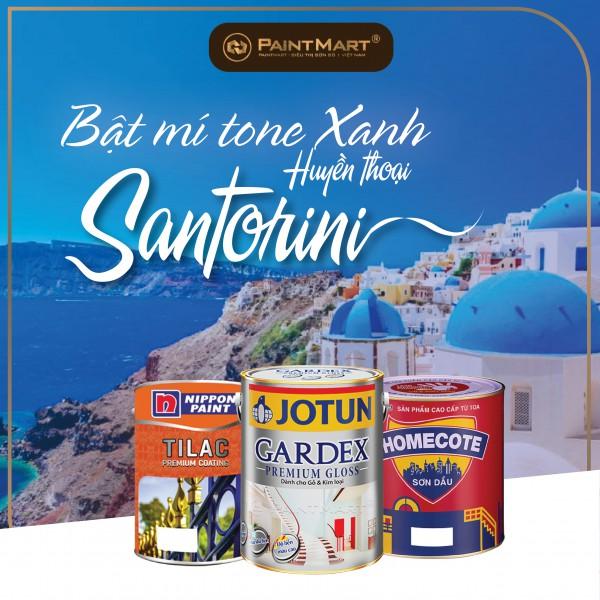 Bật mí tone xanh huyền thoại theo phong cách Santorini cho ngôi nhà của bạn