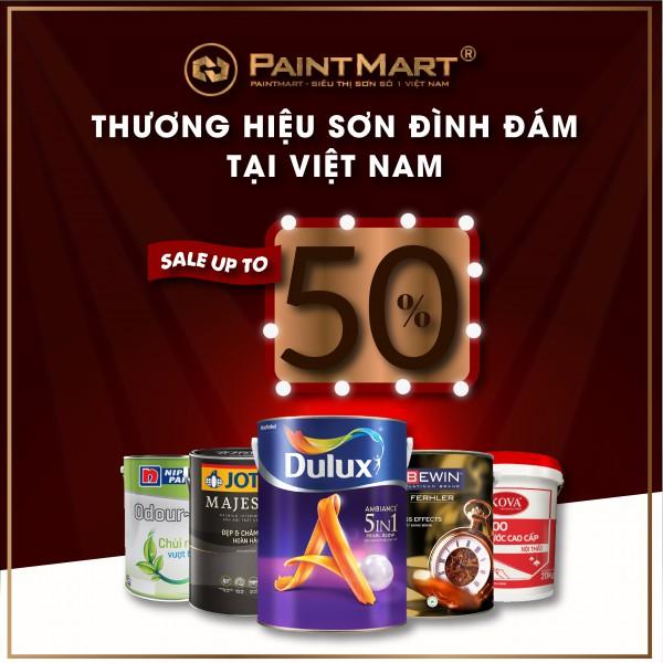 Mua Sơn trong nhà từ Top 5 thương hiệu sơn đình đám nhất tại Việt Nam