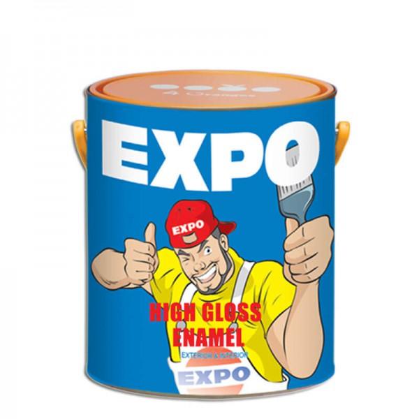 Sơn dầu Expo High Gloss Enamel - Mã màu 000, 111, 210, 233, 444