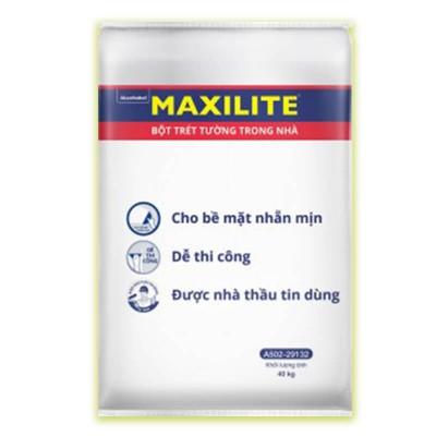 Bột trét tường nội thất Maxilite - 40 Kg