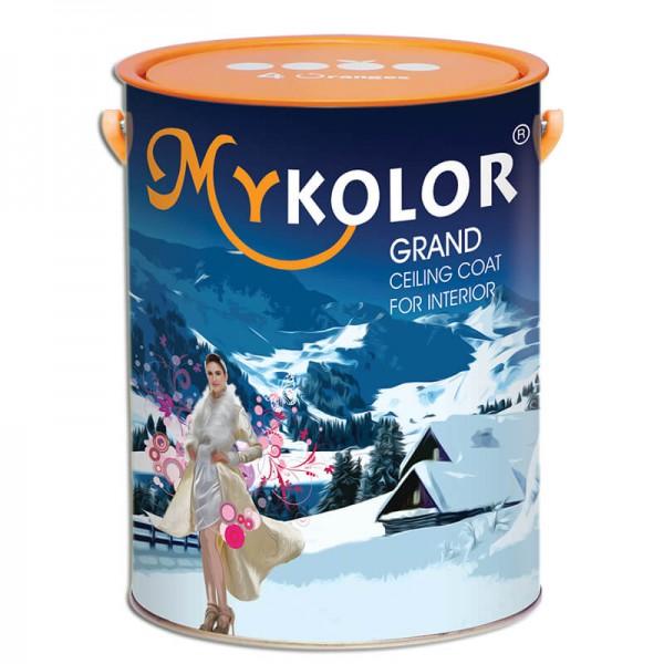 Sơn trắng LĂN  TRẦN Mykolor Grand Ceiling Coat For Int 5L