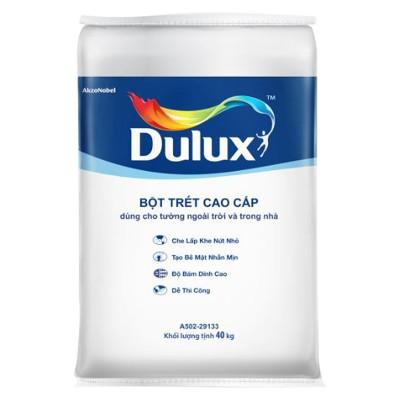 Bột trét tường nội ngoại thất Dulux - 40 kg