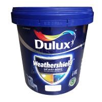 Sơn nước ngoại thất Dulux Weathershield bề mặt bóng BJ9 lon 15L