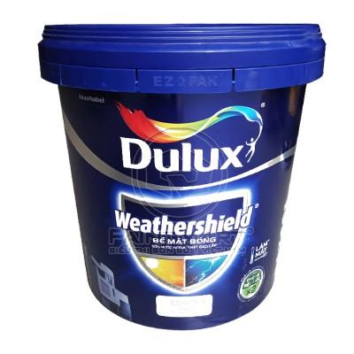 Sơn ngoại thất Dulux Weathershield bề mặt bóng BJ9 15L