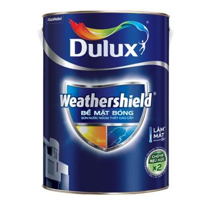 Sơn ngoại thất Dulux Weathershield bề mặt bóng BJ9 1L