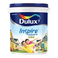 Sơn nước ngoại thất Dulux Inspire Ngoại Thất Sắc Màu Bền Đẹp BỀ MẶT MỜ thùng 18L