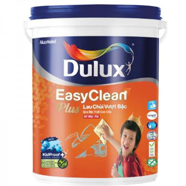 Sơn nội thất Dulux Easyclean lau chùi vượt bậc bề mặt mờ 74A lon 5L