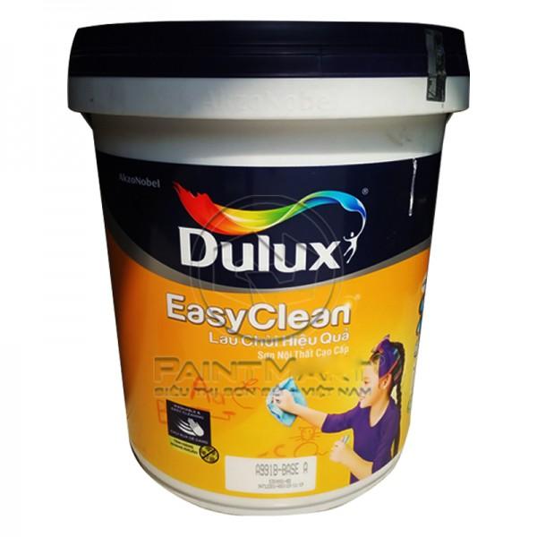 Sơn nội thất Dulux Easyclean lau chùi hiệu quả bề mặt mờ A991 18L