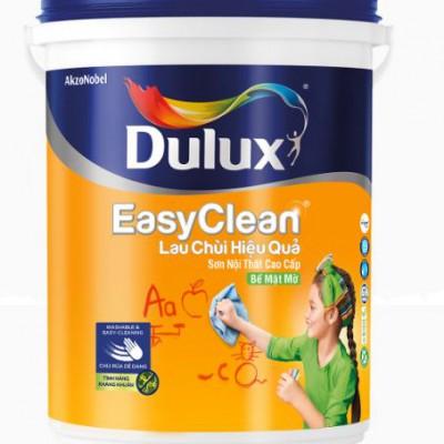 Sơn nội thất Dulux Easyclean lau chùi hiệu quả bề mặt mờ A991 5L