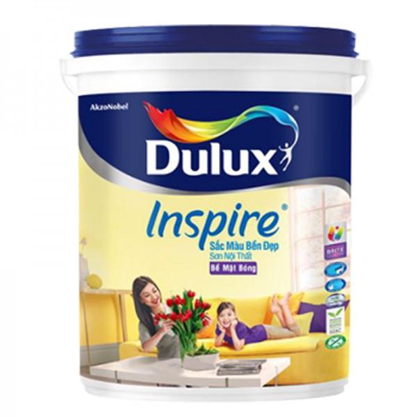 Sơn nội thất Dulux Inspire bề mặt bóng 39AB lon 5L