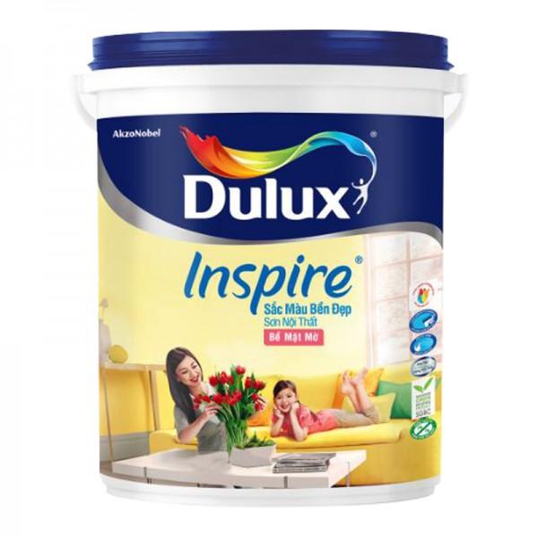 Sơn nội thất Dulux Inspire bền đẹp bề mặt mờ thùng 18L