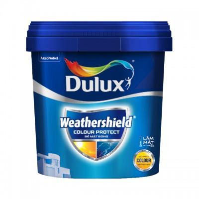 Sơn ngoại thất Dulux Weathershield Colour Protect bề mặt bóng E023 thùng 15L