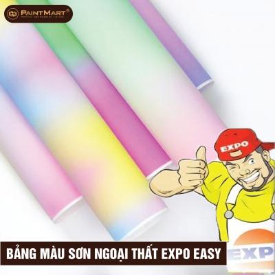 Bảng màu Sơn ngoại thất Expo Easy For Exterior