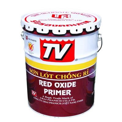 Sơn chống rỉ TV CHU - Đỏ - 17.5L