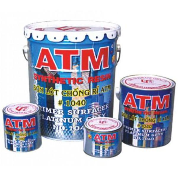 Sơn chống rỉ ATM - XÁM - 800ML