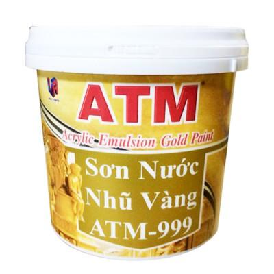 Sơn nước nhũ vàng ATM 999 - 875ML