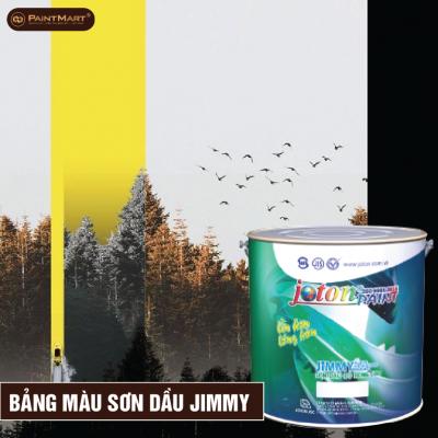 Bảng màu sơn dầu Joton Jimmy