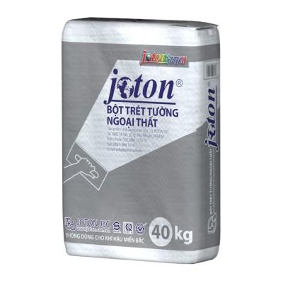 Bột trét tường ngoại thất Joton TRẮNG BAO 40KG