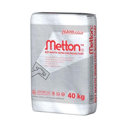 Bột trét tường ngoại thất Joton METTON BAO 40KG