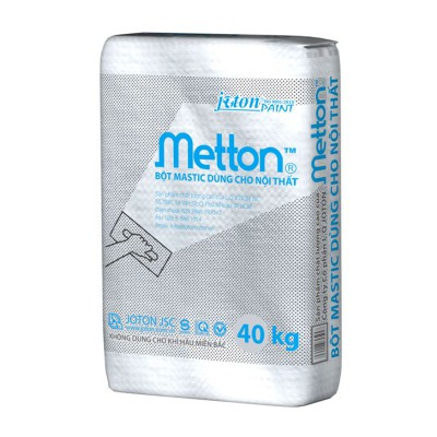 Bột trét tường nội thất Joton METTON - BAO 40kg