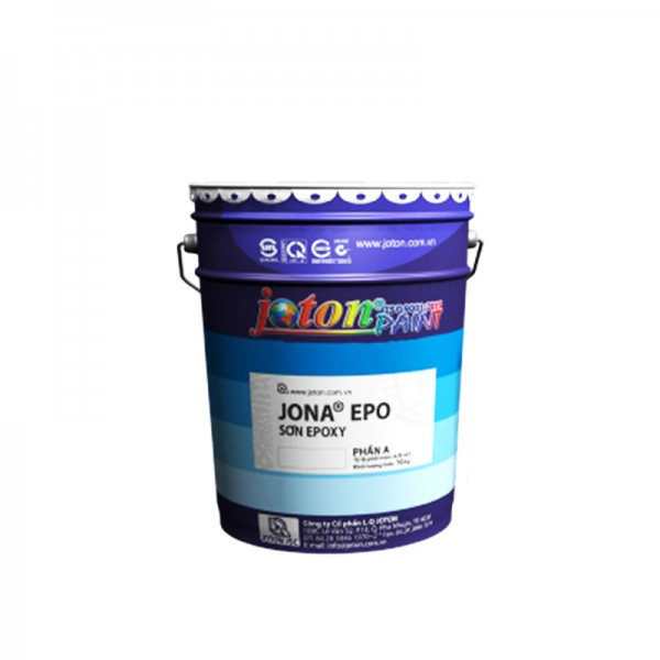Sơn phủ Epoxy gốc dầu JONA EPO - Màu 2038, 2039, 2080, 2082, 2086, 2087 - 3kg