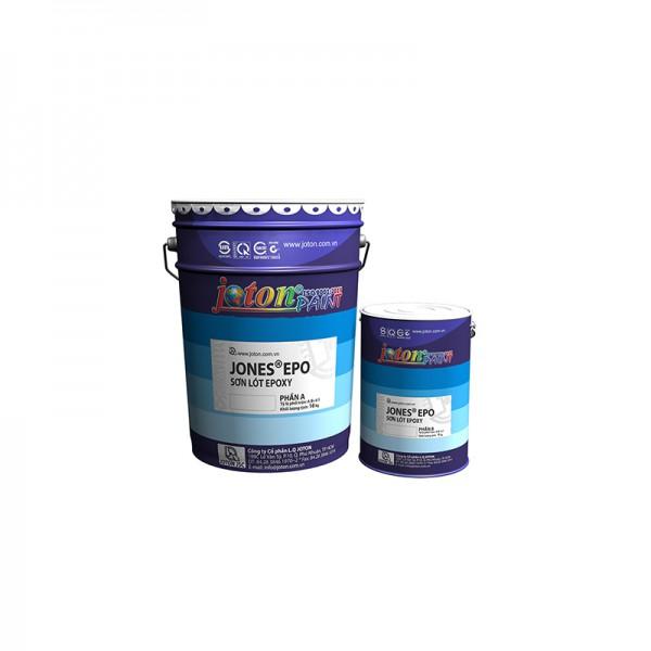 Sơn lót Epoxy gốc dầu JONES EPO - Màu Trắng, Nâu đỏ - 3kg