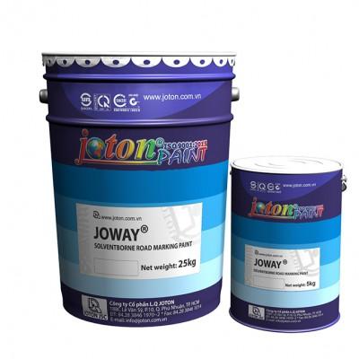 Sơn kẻ vạch đường JOTON JOWAY- Màu Trắng, Đen - 5kg