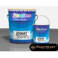 Sơn kẻ vạch Joton Joway sơn lạnh Màu  trắng-đen 25Kg