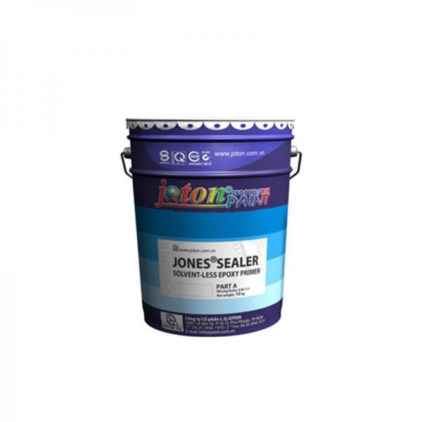 Sơn lót chịu ẩm cho sơn Epoxy tự san phẳng JOTON JONES SEALER - Màu Trong Suốt - 18kg